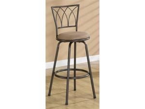 "29""H Barstool in Dark Coffee Finish (Set of 2) by Coaster Furniture"