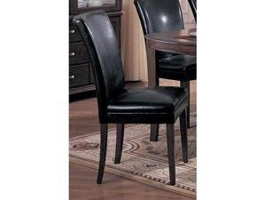 Amherst Dining Side Chairs in Black (Set of 2) by Coaster Furniture