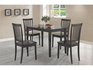 Expresso 5 Piece Dining Set by Coaster Furniture