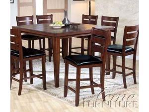 Urbana Counter Height Dining Table in Cherry Finish by Acme