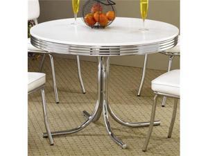 Retro 50's Soda Fountain Table by Coaster Furniture