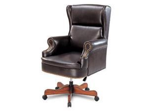 Leather-Like Vinyl Wing Home Office Executive Chair by Coaster Furniture