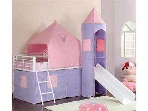 Castle Styled Twin Loft Bed by Coaster