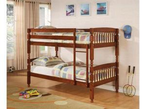 Pine Twin over Twin Bunk Bed by Coaster Furniture