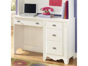 Exquisite Youth Desk in White Finish