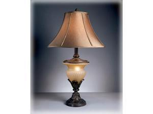 DANIELLE BEIGE/BRONZE TABLE LAMP (2/CTN)  by Ashley Furniture
