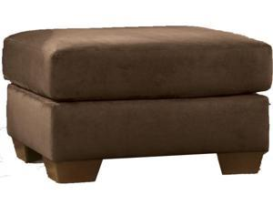 Darcy Caf Finish Ottoman by Ashley Furniture