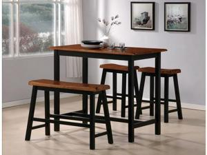 Tyler 4-piece Counter Height Table Set By Crown Mark Furniture