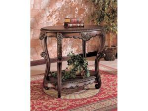 Elegant Brown Stafton Table by Coaster Furniture