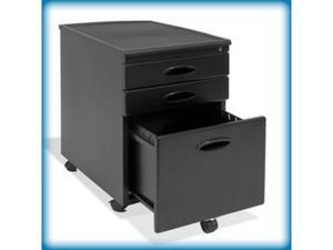 Calico File Cabinet in Black and Black Finish by Studio Designs