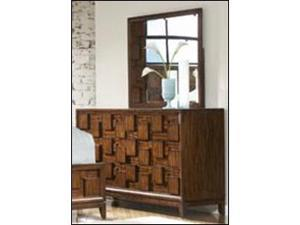 Dresser and Mirror of Campton Collection by Homelegance