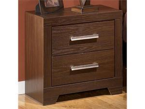 Aleydis Nightstand in WarmBrown  Finish