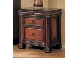 Home Office File Cabinet in Dark Two Tone Finish by Coaster Furniture