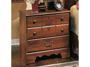 """Famous Brand"" FurnitureTimber line Night Stand B258-92"