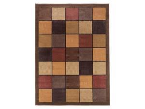 """Famous Collection"" -Brown  Rug"