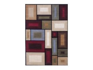 """Famous Collection""Multi  Rug  by ""Famous Brand"" Furniture"