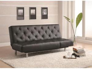 Contemporary Sofa Bed - Black by Coaster