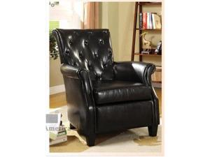 Barcelona I Accent Chair in Black