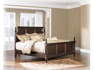 Traditional Classics King Bed in DarkBrown  Finish