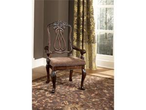 """Famous Collection""tem DescriptionDining UPH Arm Chair (2/CN)"