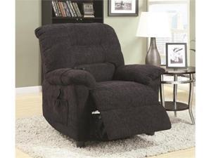 Power Lift Recliner with Remote Control in Gray by Coaster