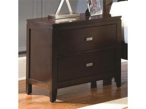 Night Stand with 2 Drawers by Generations by Coaster