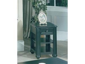 Chairside Table in Vintage Black by Parker House