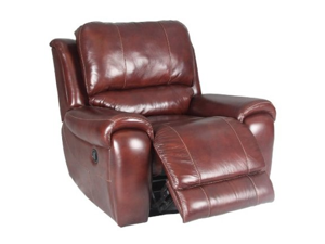 Titan Recliner Swivel Chair in Dark Burgandy by Parker Living