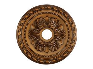 Corinthian Medallion 22 Inch In Antique Bronze Finish