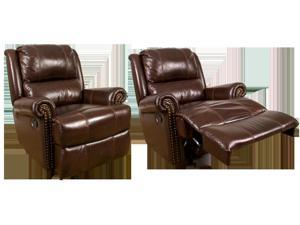 Aries Glider Recliner in Cocoa by Parker Living