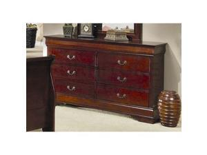 Louis Philippe Dresser by Coaster Furniture