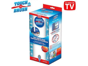 All Star TB011106 Touch N Brush Hands-Free Toothpaste Dispenser and Toothbrush
