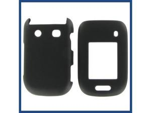 Blackberry 9670 (Style) Black Rubber Protective Case