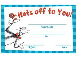CAT IN THE HAT HATS OFF TO YOU