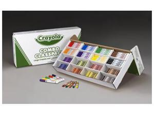 CRAYOLA LARGE SIZE CRAYONS AND