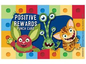 ALPHABITES REWARD PUNCH CARDS