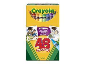 CRAYOLA REGULAR SIZE CRAYON 48PK