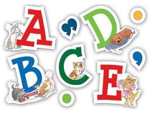 WAGS AND WHISKERS CHARACTER LETTERS