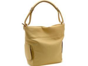Designer inspired soft hobo bag