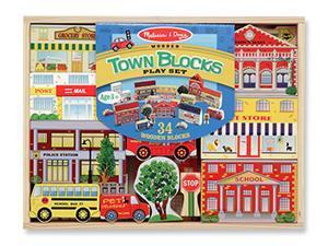 TOWN BLOCKS PLAY SET