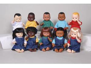 MARVEL EDUCATION COMPANY MTC113 DOLLS MULTI-ETHNIC WHITE GIRL