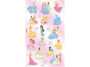 DISNEY PRINCESS STICKERFITTI FLAT