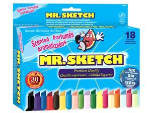 MR SKETCH SCENTED MARKER 18 COLORS