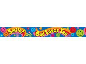 SMILE GOD LOVES YOU BOLDER BORDERS