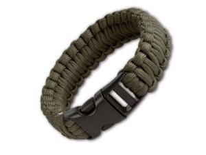 """JG 8"""" Survival Bracelet Olive Drab"""