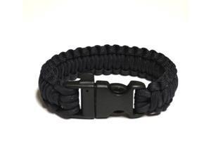 Survival Bracelet w/Whistle - Dark Blue