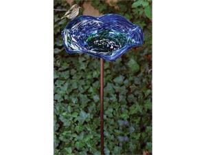 Illum. Blue Swirl BB w/KD Stake
