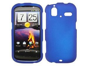 HTC Amaze 4G Rubberized Snap-On Cover, Blue