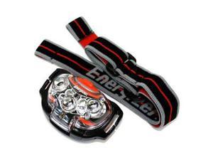 7 LED Headlight, 4 Modes, White & Red LEDs