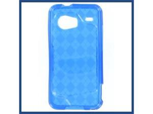 HTC Droid Incredible Crystal Case Blue